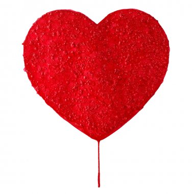 Aquarelle heart stock vector