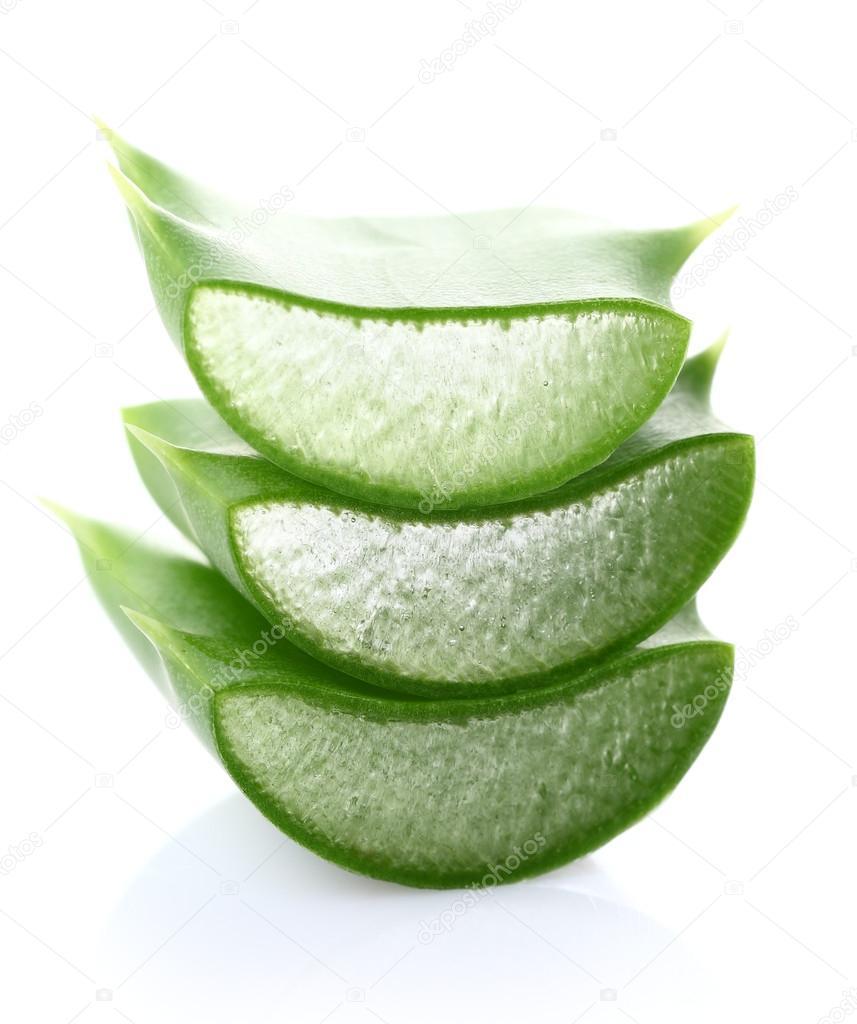 Aloe vera slice