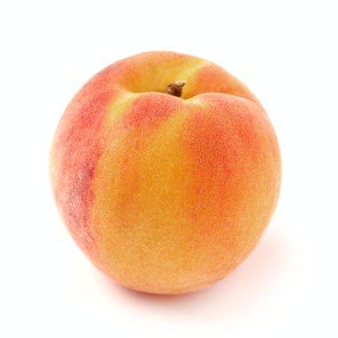 Sweet peach in closeup