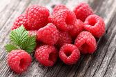 Photo Heap of raspberry