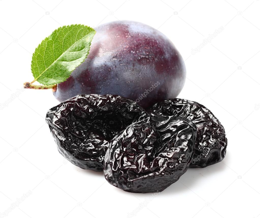 Plums with prunes
