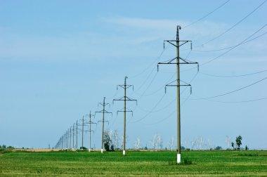 High voltage power pole