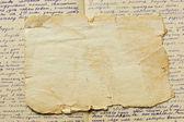 Vintage papír és betűk