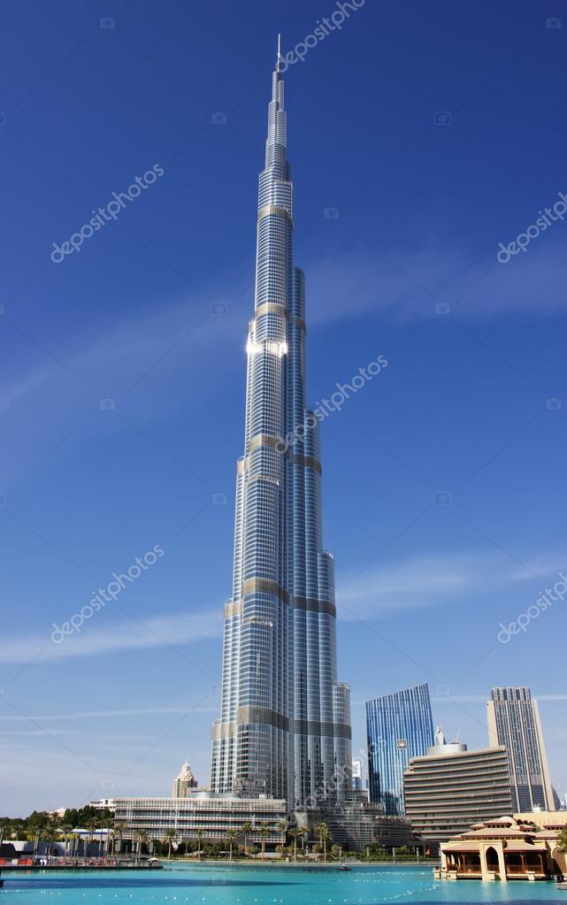 Burj Khalifa - the world's tallest tower at Downtown Burj ...