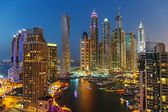 Fotografie A view of Dubai Marina