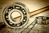 Photo mechanical bearing