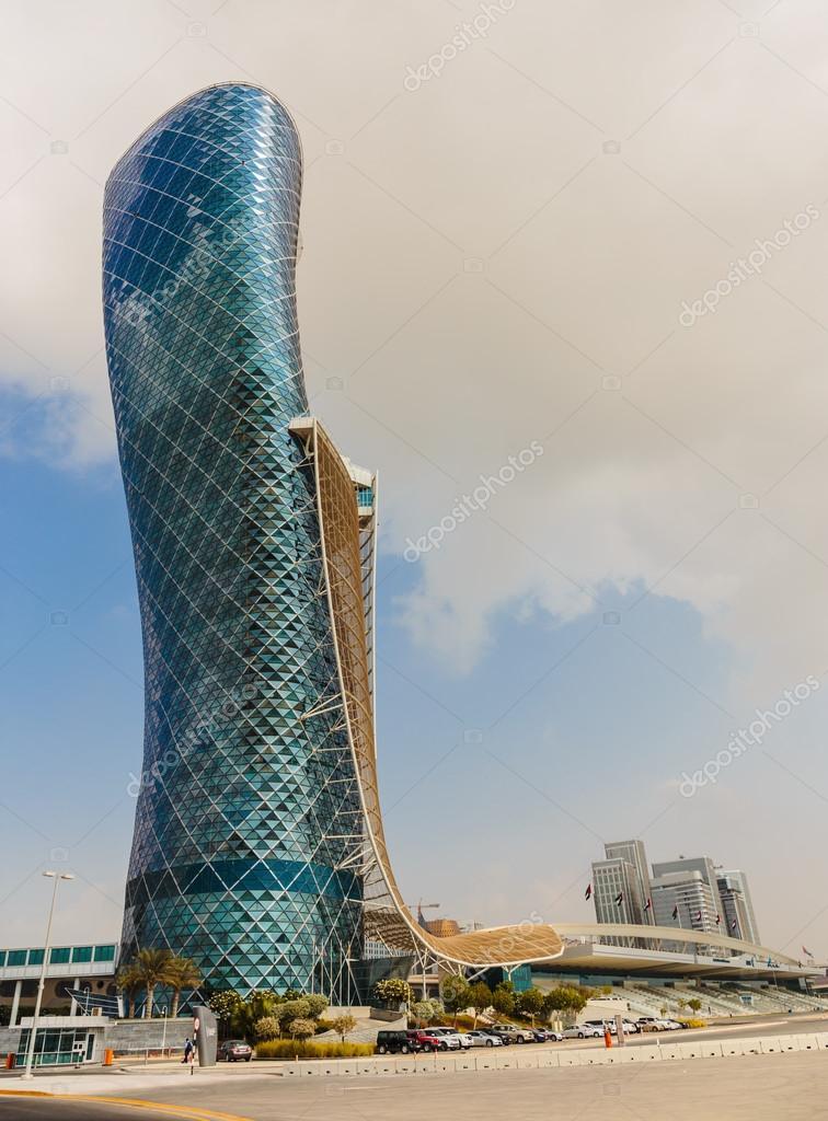 Capital Gate Tower in Abu Dhabi