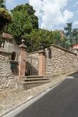 Ulice na starém městě v Itálii