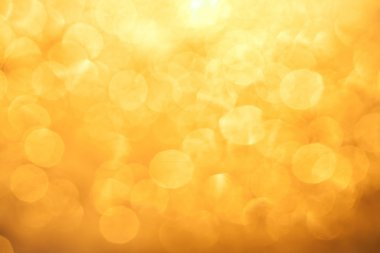 orange color bokeh