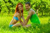 Fotografie paar Mann und Frau