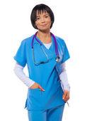 gyönyörű nő orvos