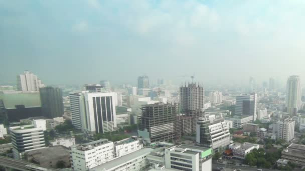 1920 x 1080 video - centrum Bangkoku. pohled shora