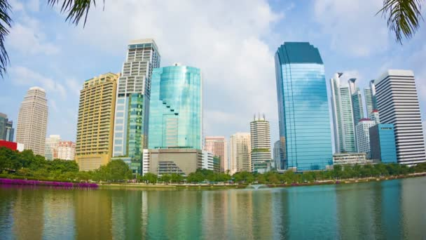 Video 1920 x 1080 - pohled z mrakodrapů bangkok Sathorn