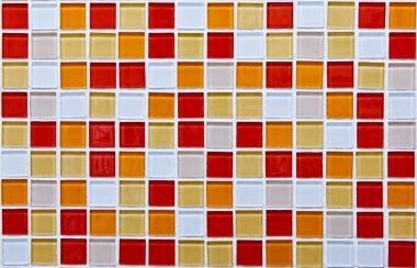Pattern mosaic tiles background