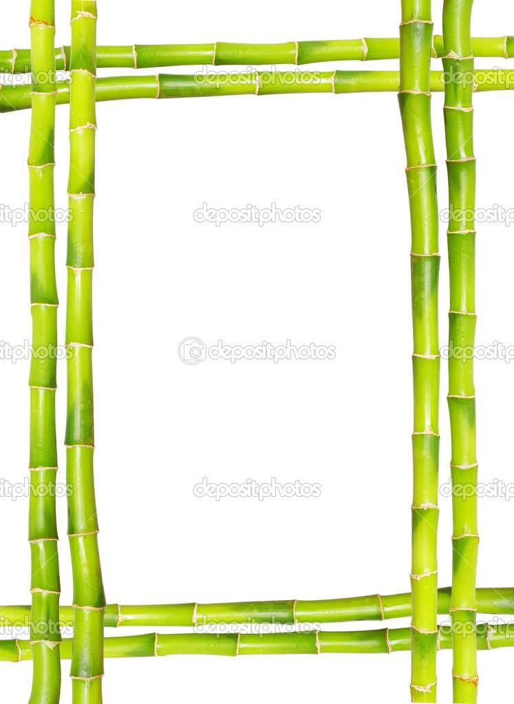 Bambus-Rahmen — Stockfoto © Pakhnyushchyy #12742127