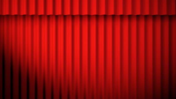 vörös függönyök élénkség hurok