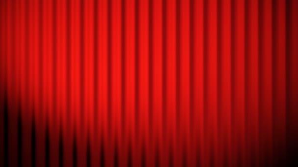 červené závěsy animace smyčka