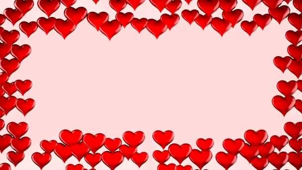 Red Heart shape frame