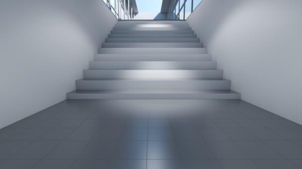moderní architektura budovy animace