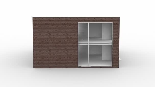 samostatný, moderní dům stavební rotační