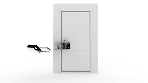 otevřít zamčené dveře aktivity