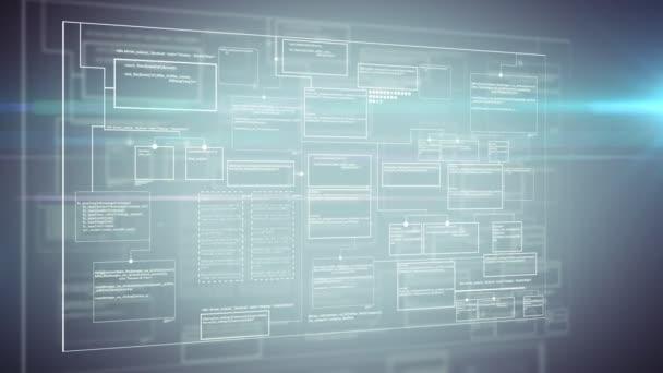 Computer code programm digital background