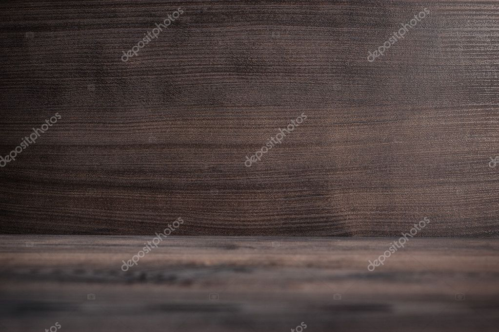 Photo of brown wooden background