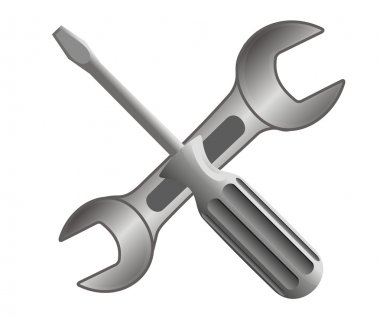 Repair and service icon