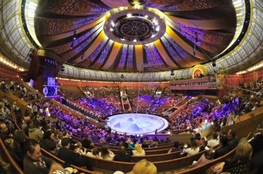 the arena of the circus