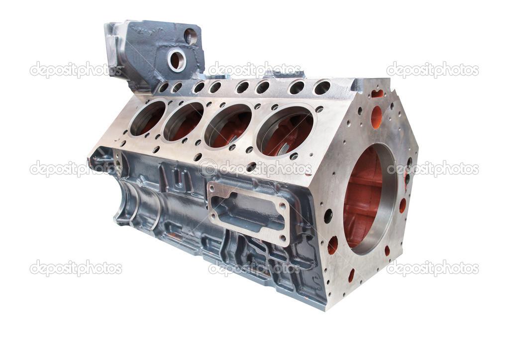 Zylinderblock der Automotor — Stockfoto © uatp12 #26960745