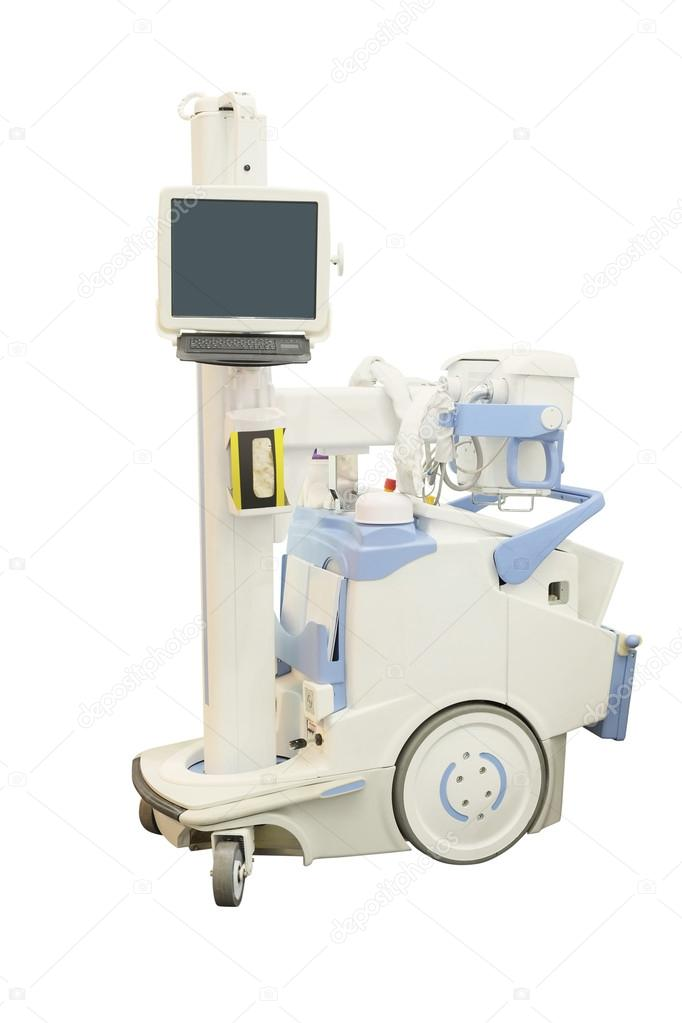 máquina de rayos x móvil — Fotos de Stock © uatp12 #37621095
