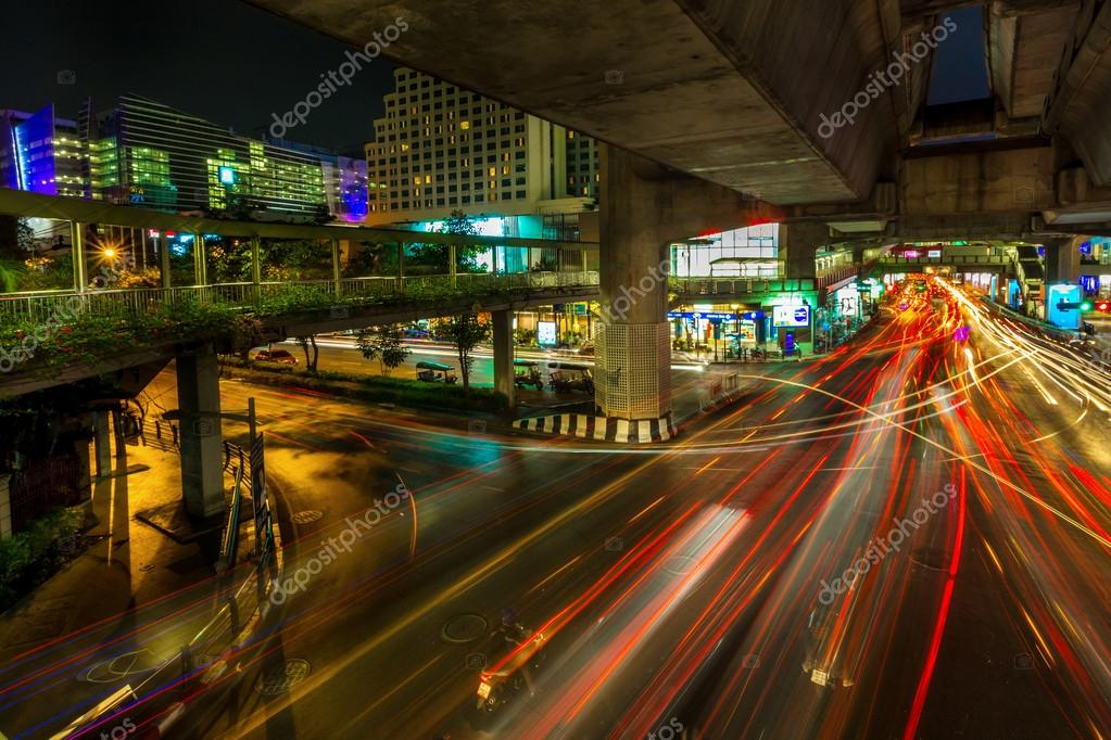 Bangkok. Thailand February 24: One of the most busiest shopping