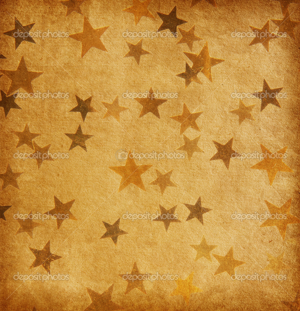 Vintage papel decorado con estrellas de grunge fotos de for Imagenes de papel decorado