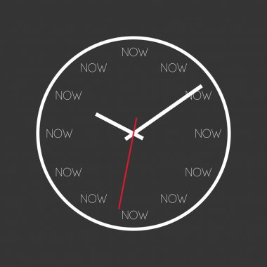 Present moment clock