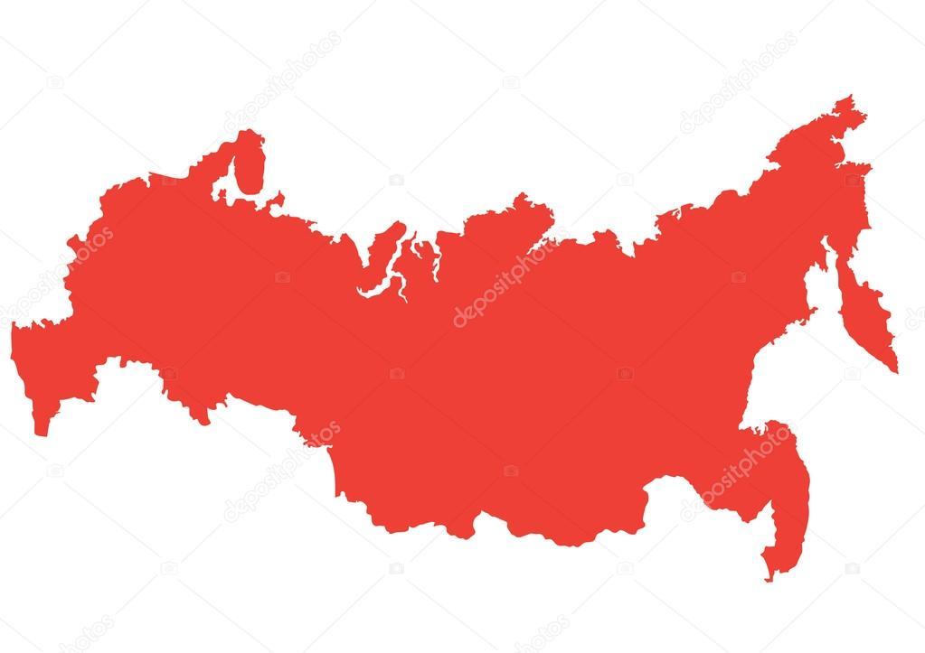 скачать в векторе карта россии - фото 7