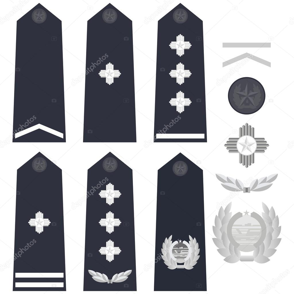 Chinese police insignia