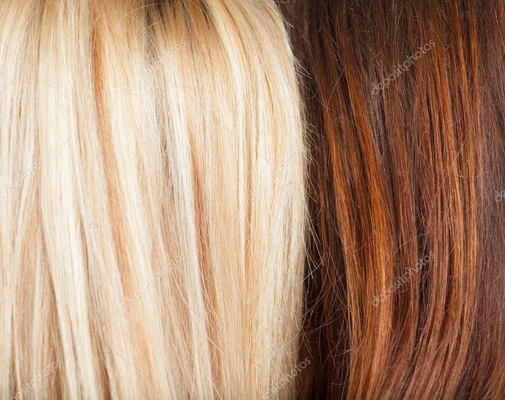 braun und blond
