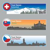 cestovní nápisy