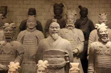 Type of The famous terracotta warriors of XiAn, China