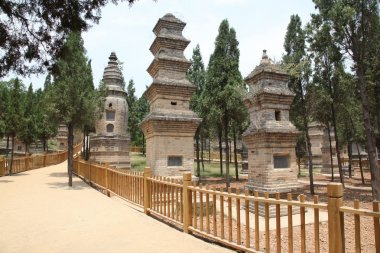 The Pagoda Forest at the Temple in Shao Lin, located in XiAn Chi