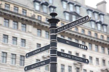 London Street Signpost