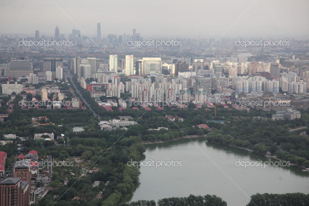 中国北京市の都市景観 — ストッ...