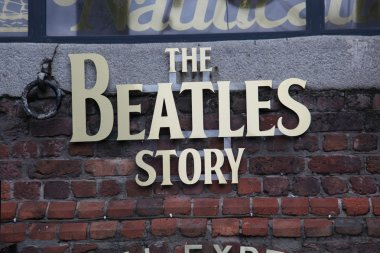 The Beatles Story, Liverpool, England. Exhibition dedicated to the leading 1960s musician group The Beatles