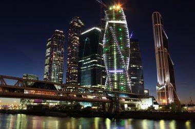 Skyscrapers City international business centre