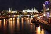 slavná a krásná noční pohled na řece