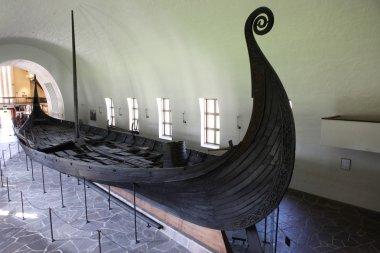 Real viking ship, museum in Norway