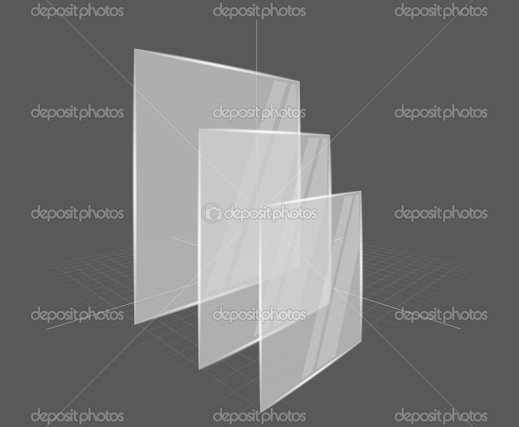 Hintergrund mit transparenten Rahmen — Stockvektor © Denchik #12754673