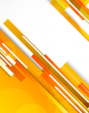Background with orange lines