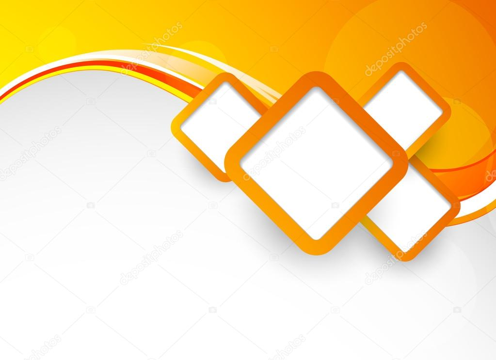 orange  Background with squares