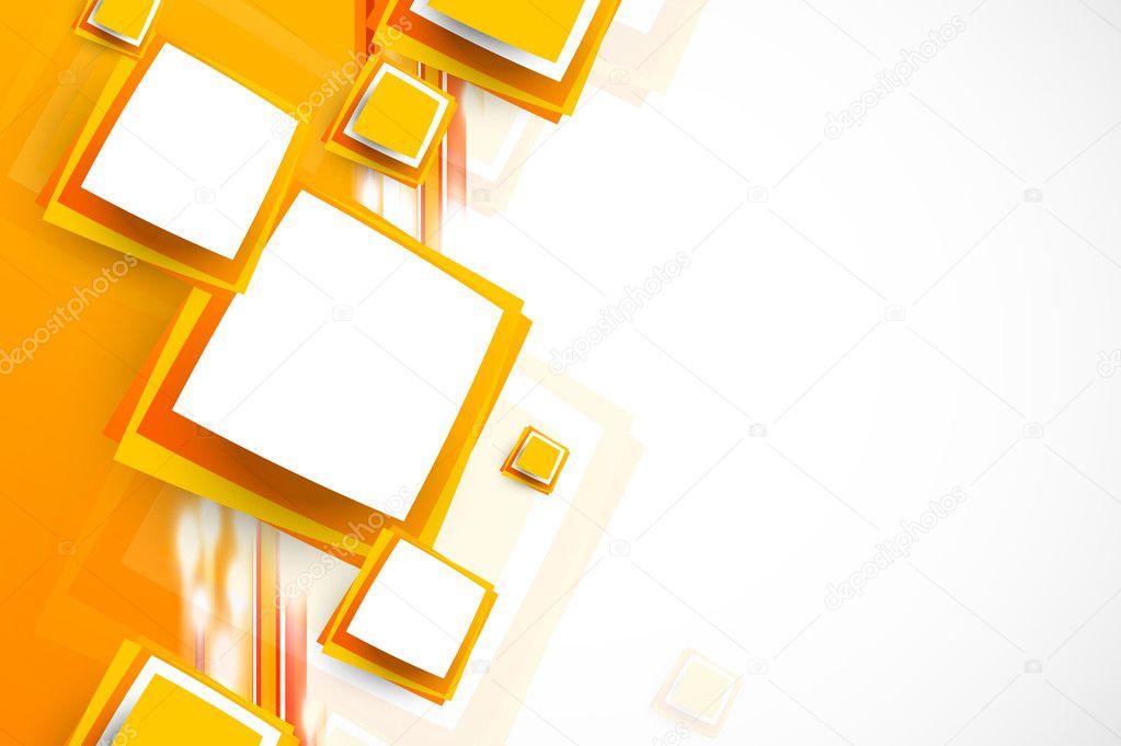 orangefarbenen Hintergrund — Stockvektor © Denchik #30086835